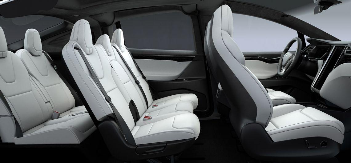 Model X: Interior & Exterior